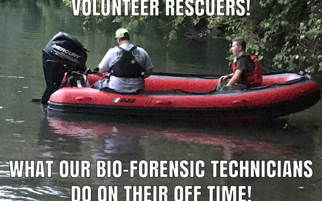 What our Bio-Forensic Technicians Do on their Off-Time!