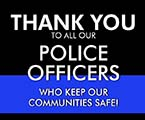 Thank You Police Officers