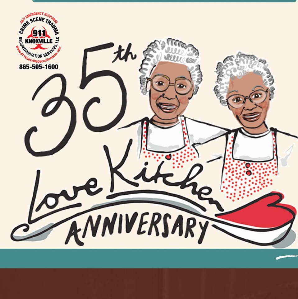 Volunteering at the Love Kitchen