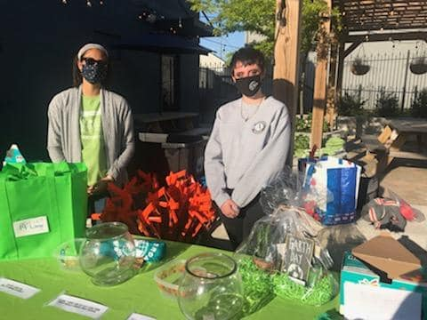 Volunteering for Earth Day!
